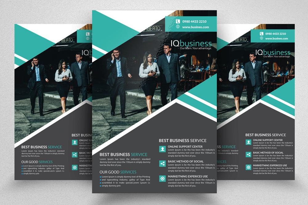 10 Multi use Business Corporate Flyer Bundle 10 example image 7