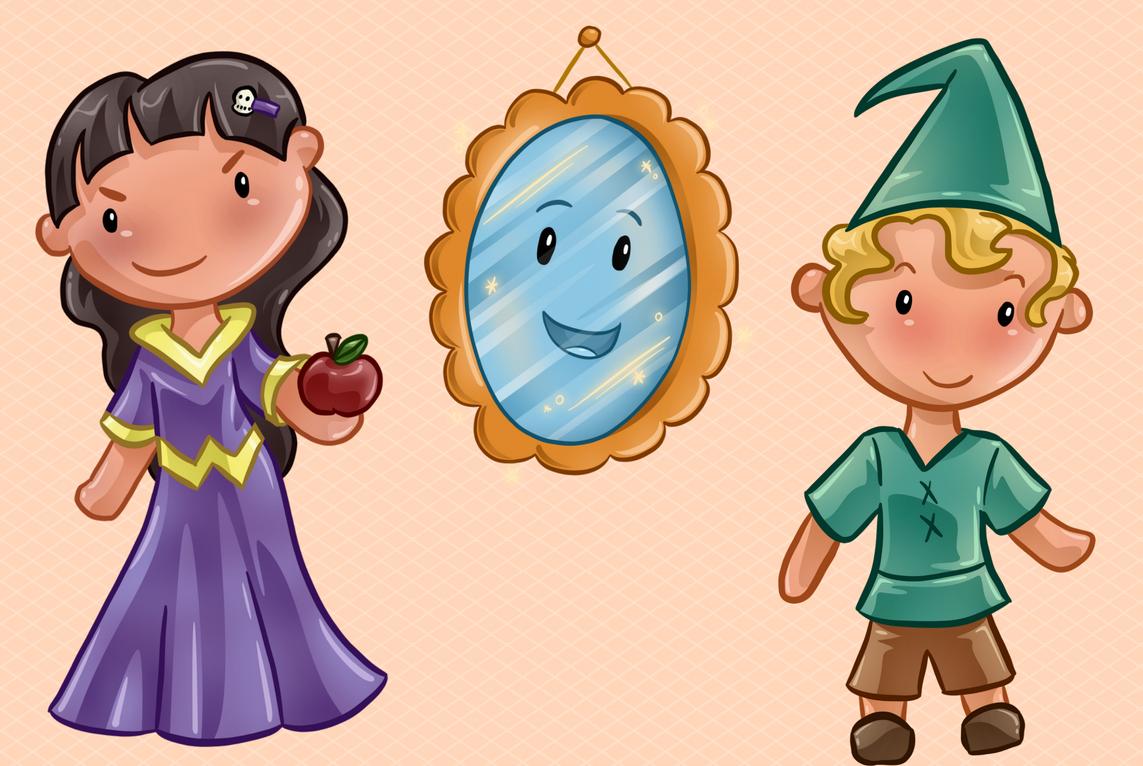 Magic Mirror Clip Art Collection example image 3