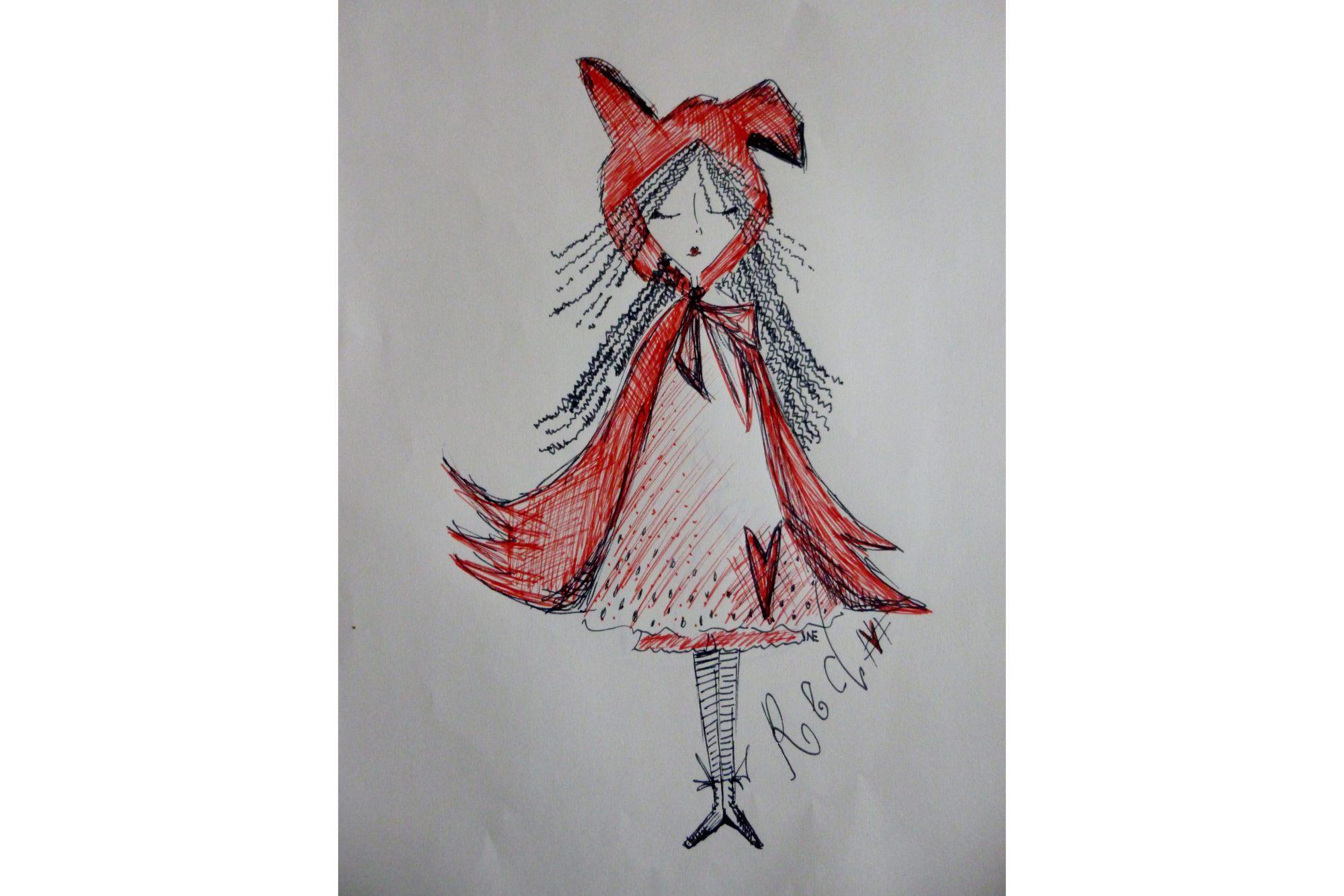 Unique Machine Embroidery Design  'Red'  example image 4