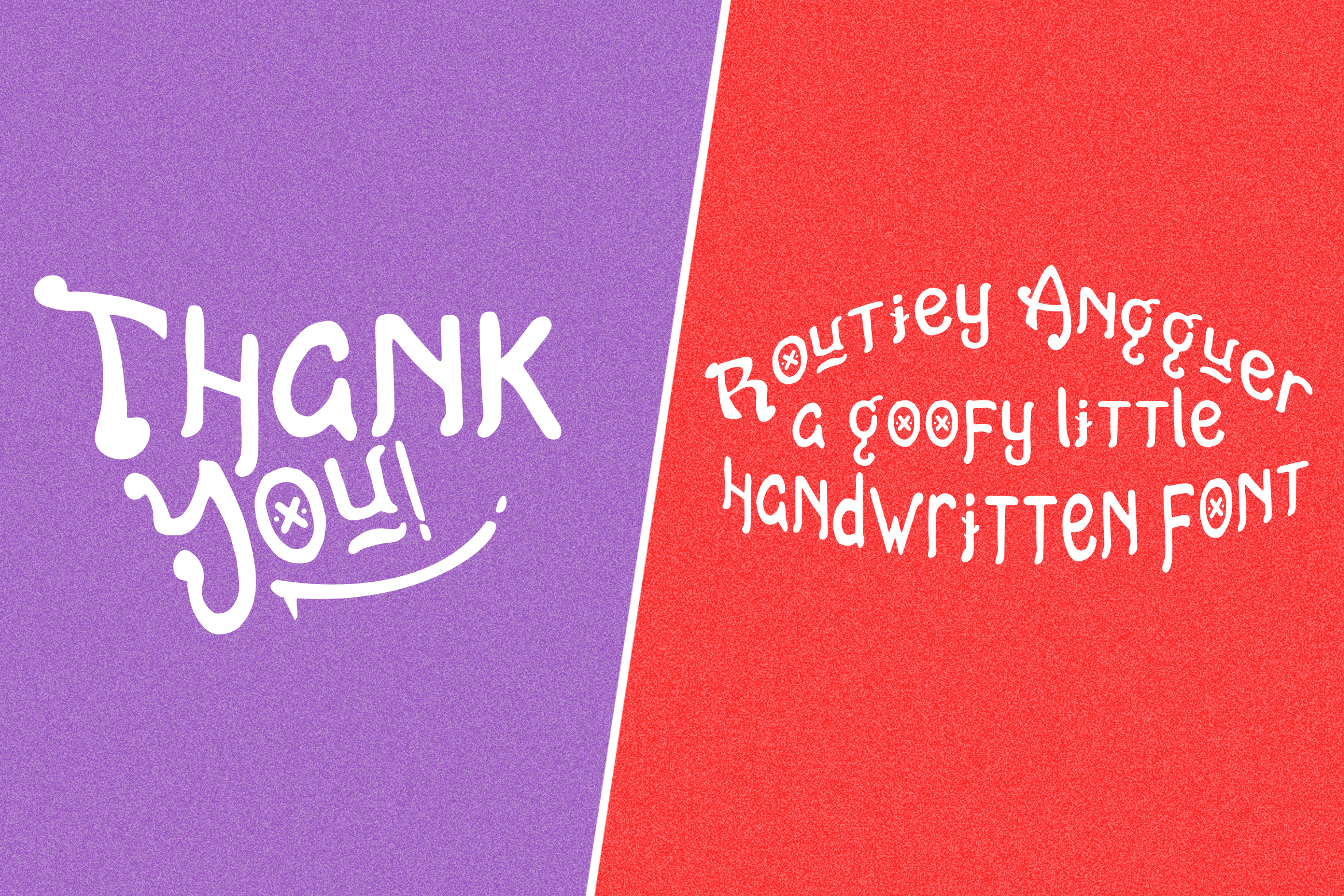 Routiey Angguer - Handwritten Font example image 5