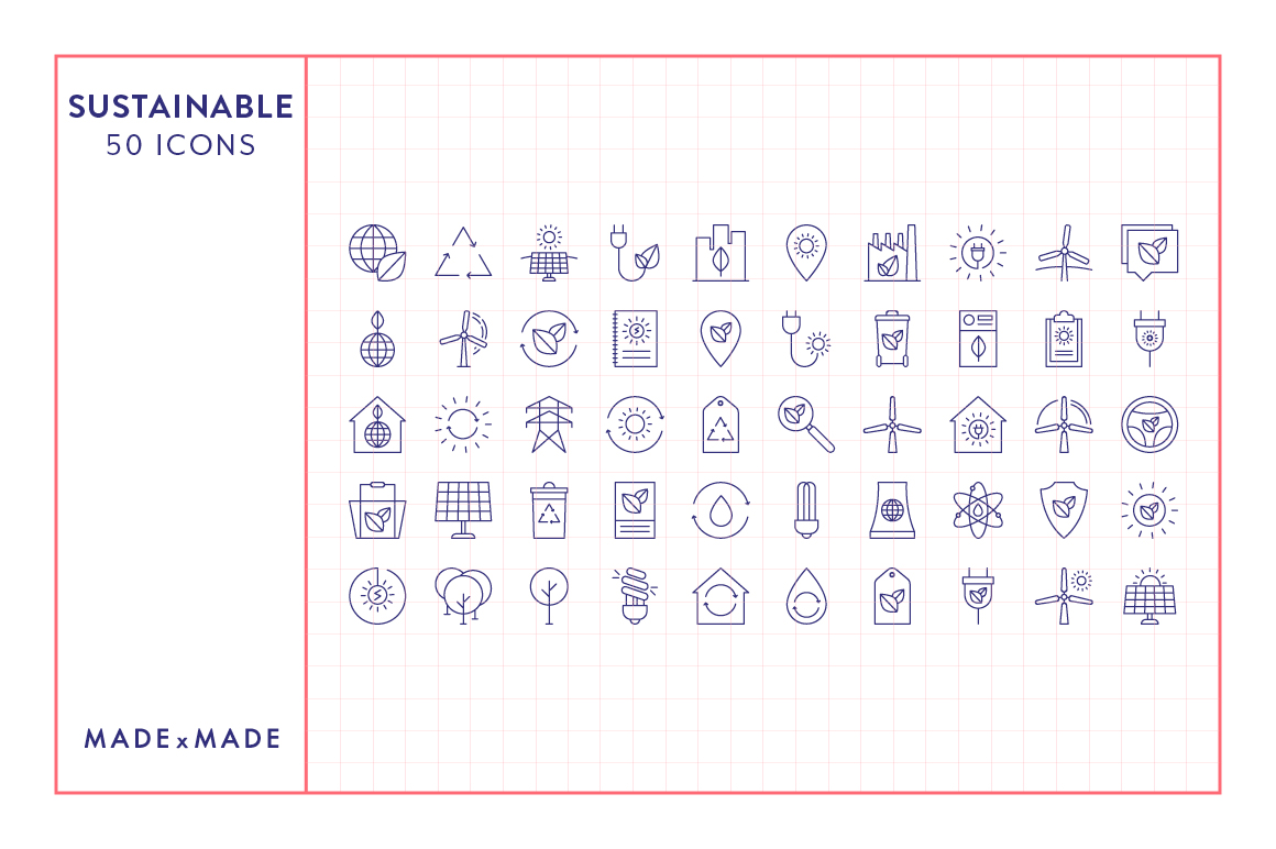 Line Icons - 3 in 1 Collections Bundle example image 12