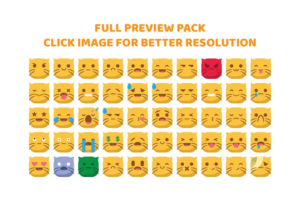 Cute Cat Emojis example image 3