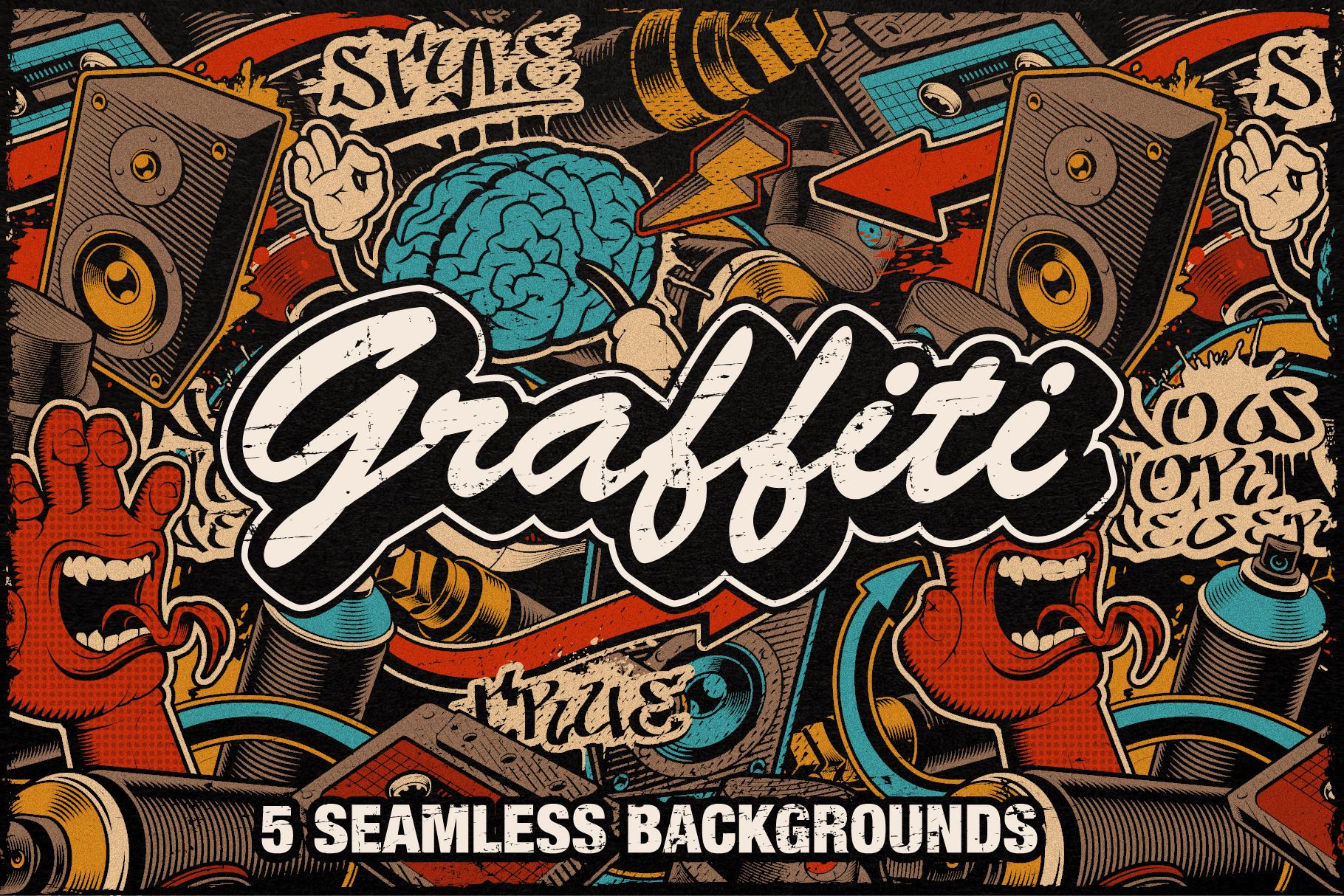 Graffiti Seamless Patterns example image 1