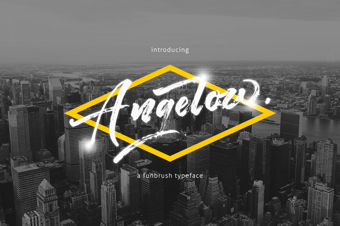 Angelow Typeface example image 1