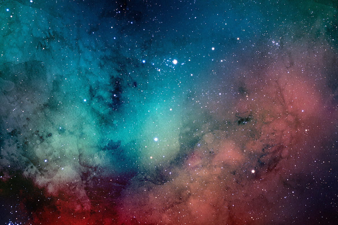Space Watercolor Backgrounds example image 9