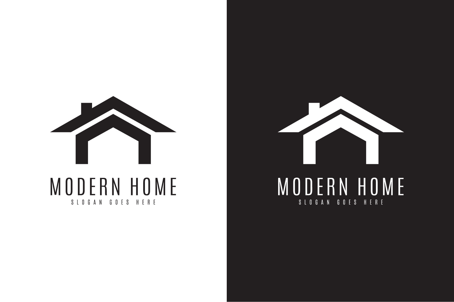 Modern Home Logo example image 3