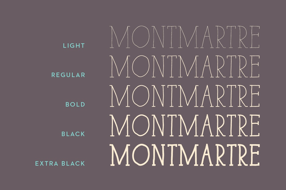 Paris Serif Family example image 3
