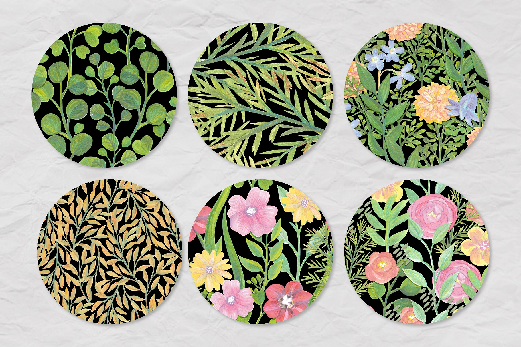 Floral Collage Creator example image 7