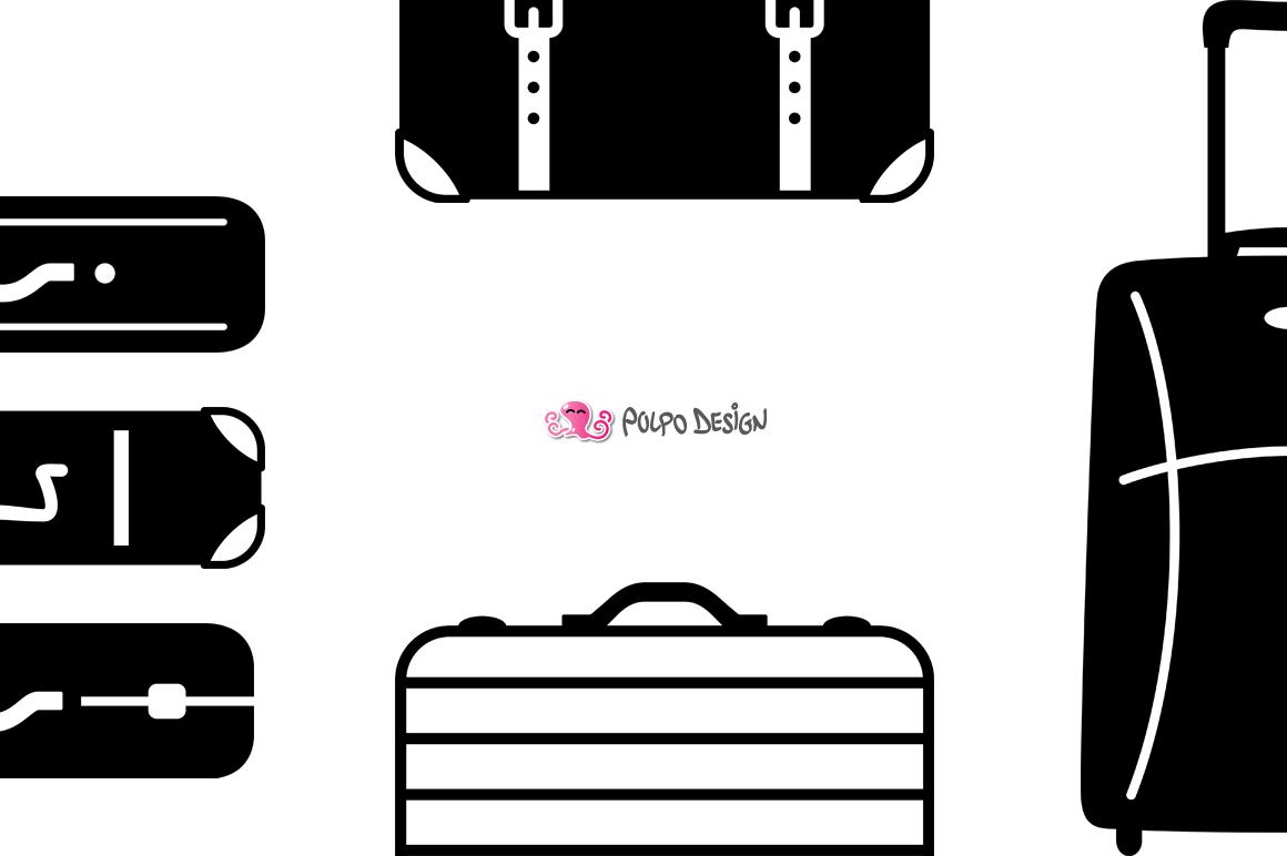Luggage SVG example image 4