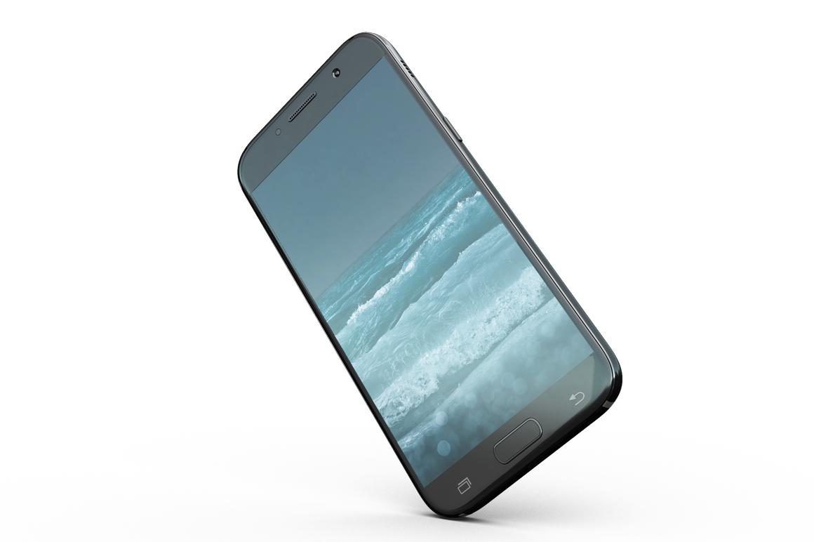 Samsung Galaxy A7 Mockup example image 3