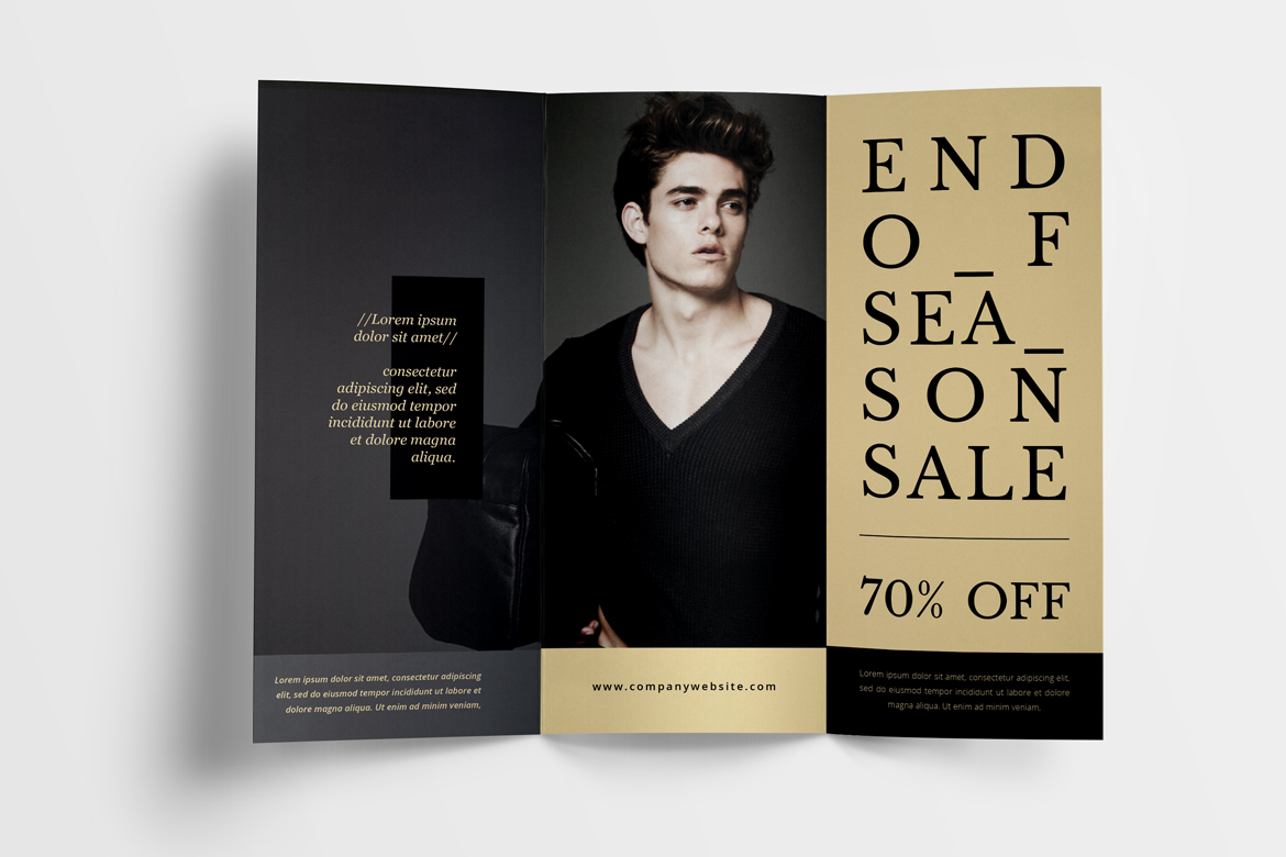 Fashion Trifold Brochure example image 4