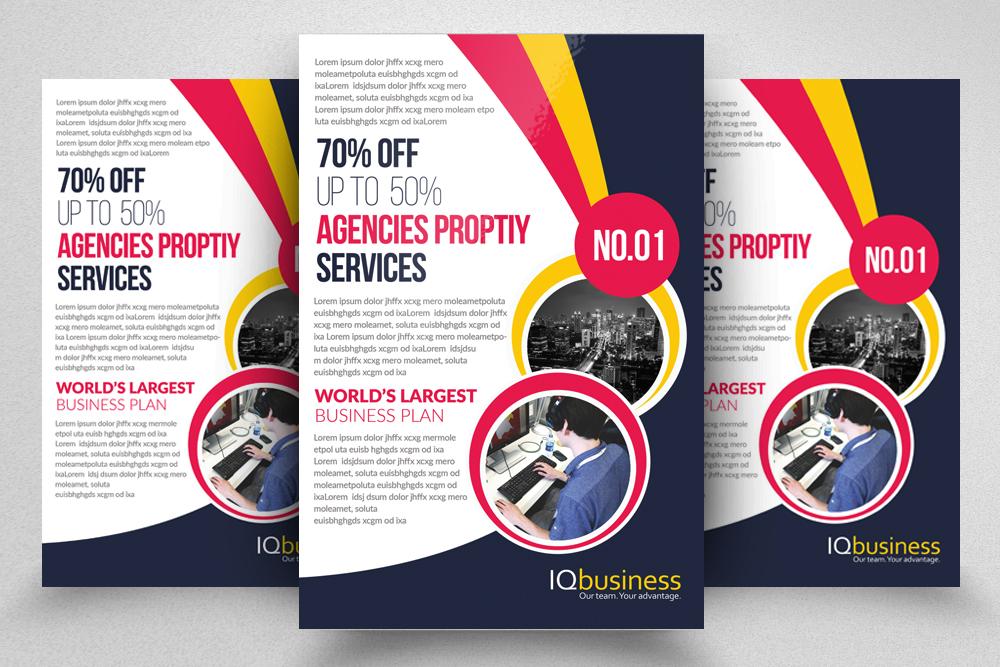 10 Multi use Business Corporate Flyer Bundle 10 example image 11