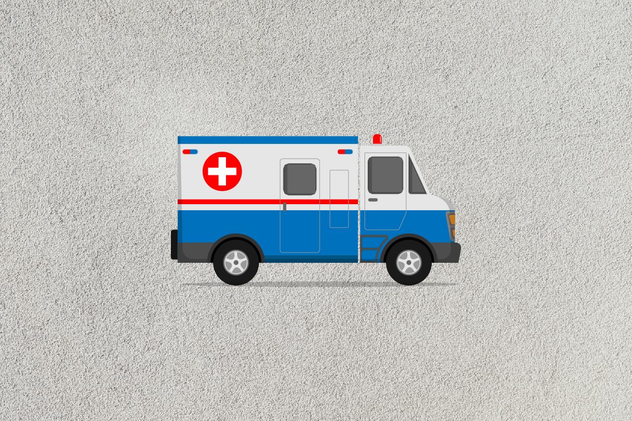 ambulance car icon example image 5