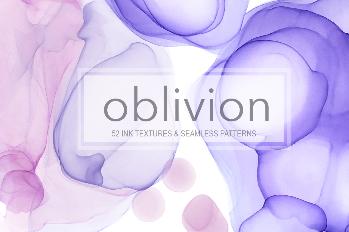 Oblivion Ink Texture Collection. example image 1