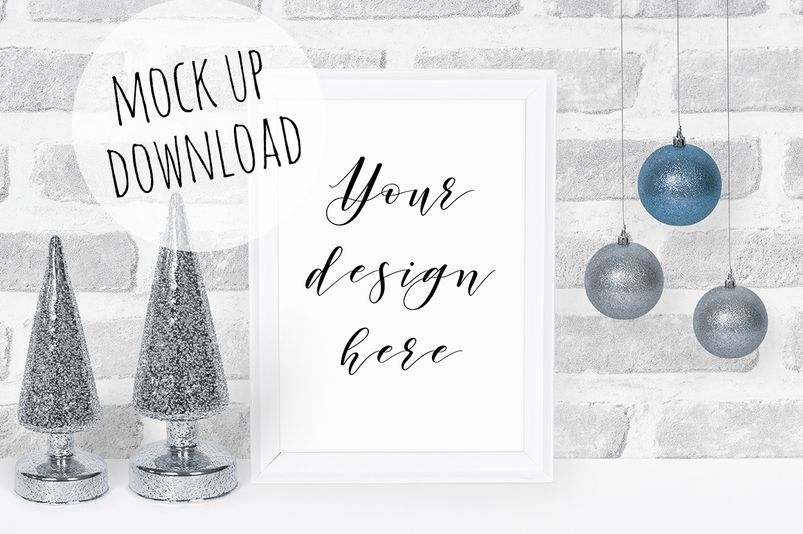 Christmas Frame Mockup Bundle example image 2