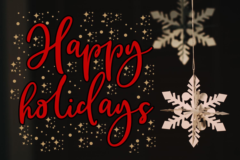 Christmas Clipart- Christmas Overlays-Holiday Graphics example image 6