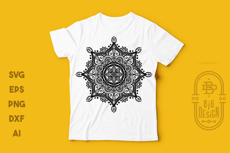 Mandala SVG - Mandala Drawing SVG, Mandala DXF EPS PNG SVG example image 3