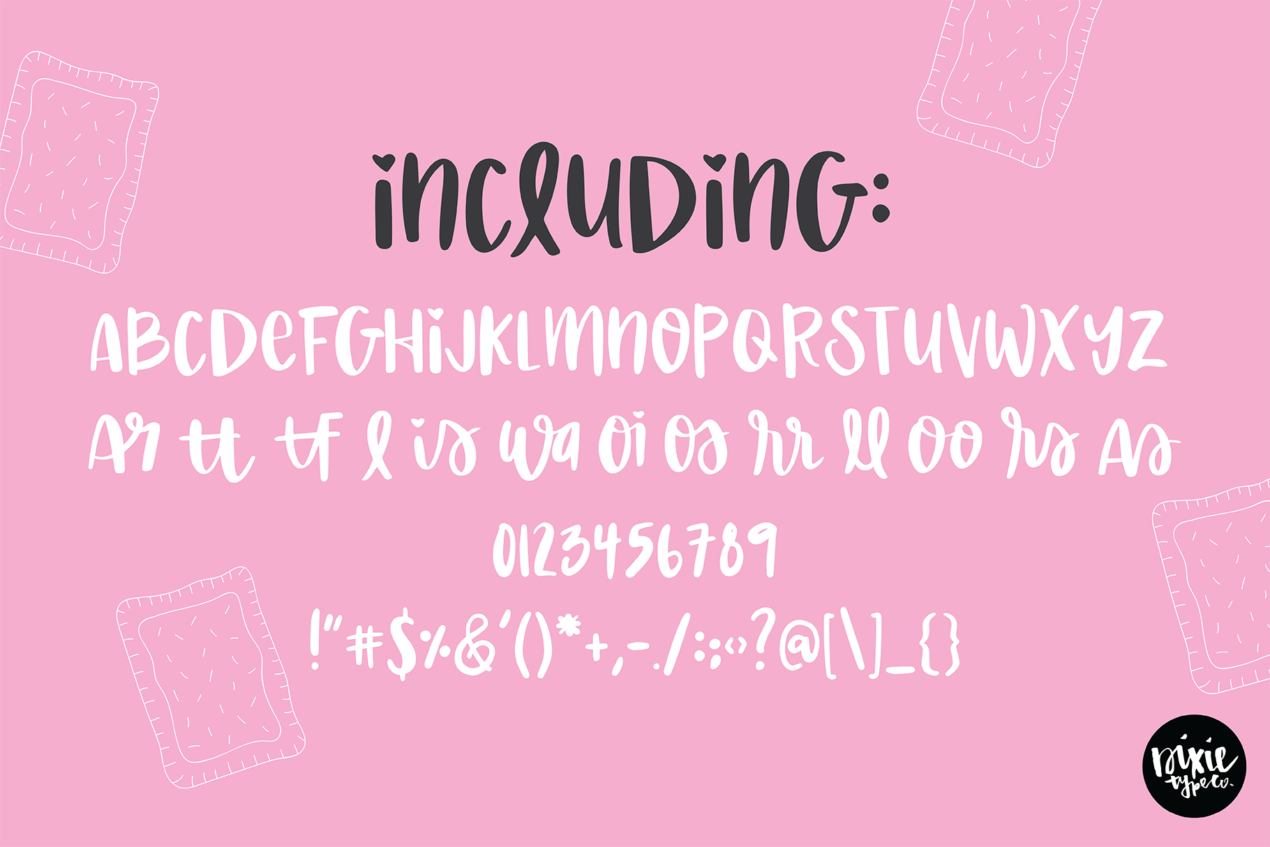 BERRY PASTRY a Hand Lettered Brush Script Font example image 2