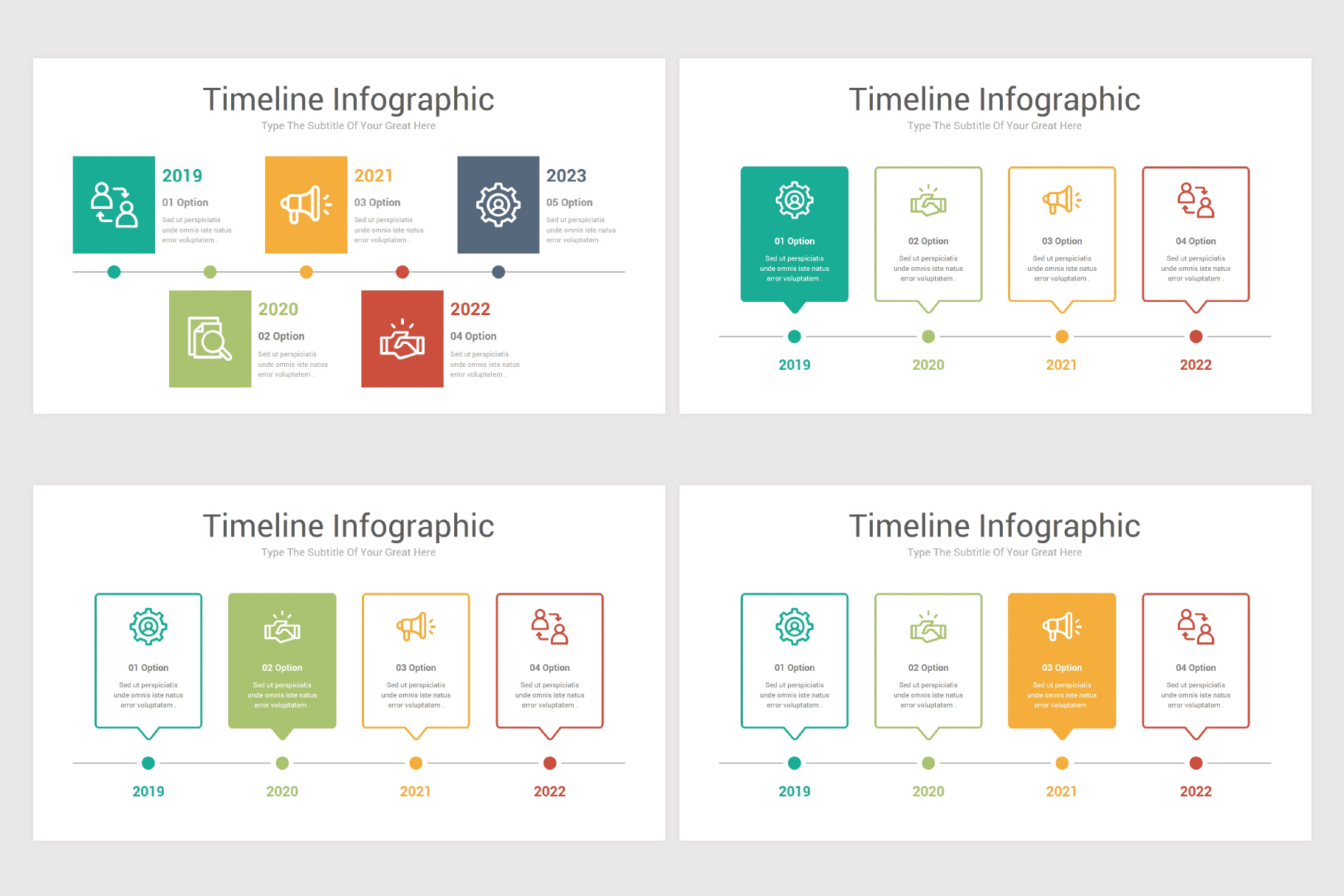 Keynote Timeline Infographics Pack-2 example image 10