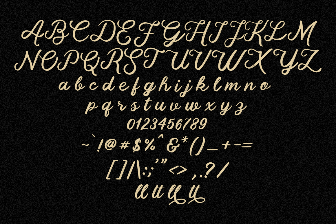 Fallen Attena - Brush Font example image 6