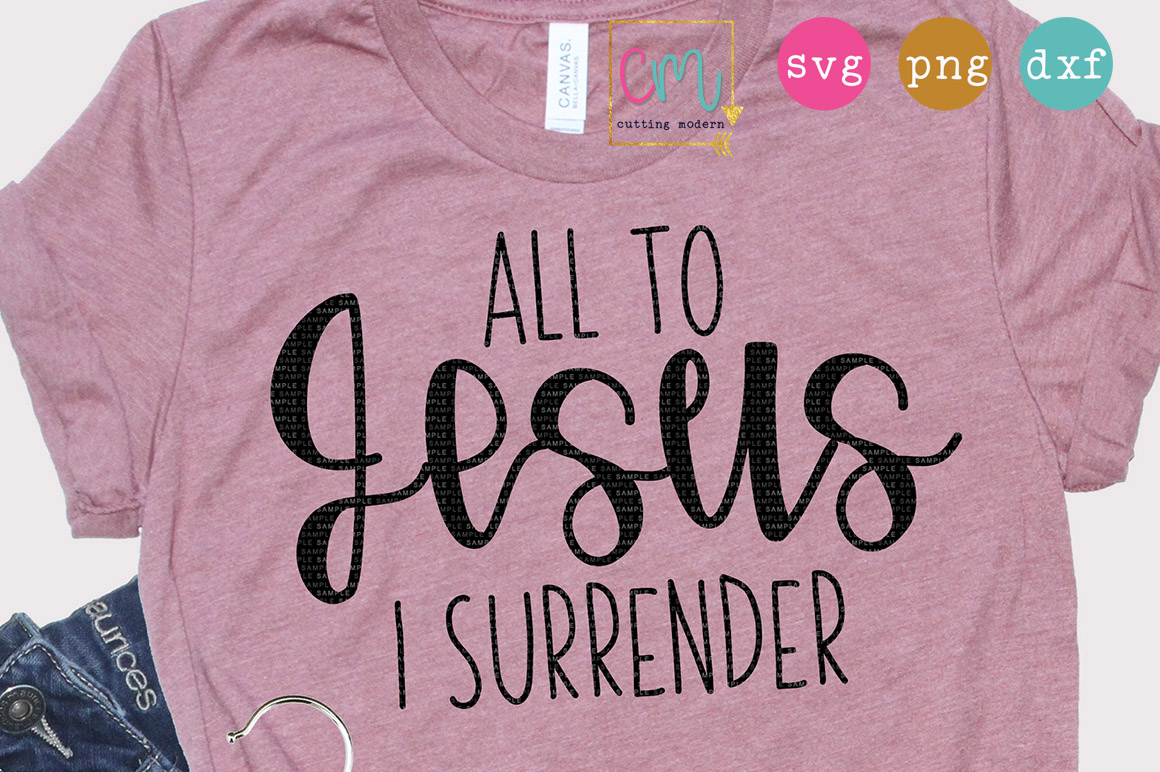 All To Jesus I Surrender example image 1