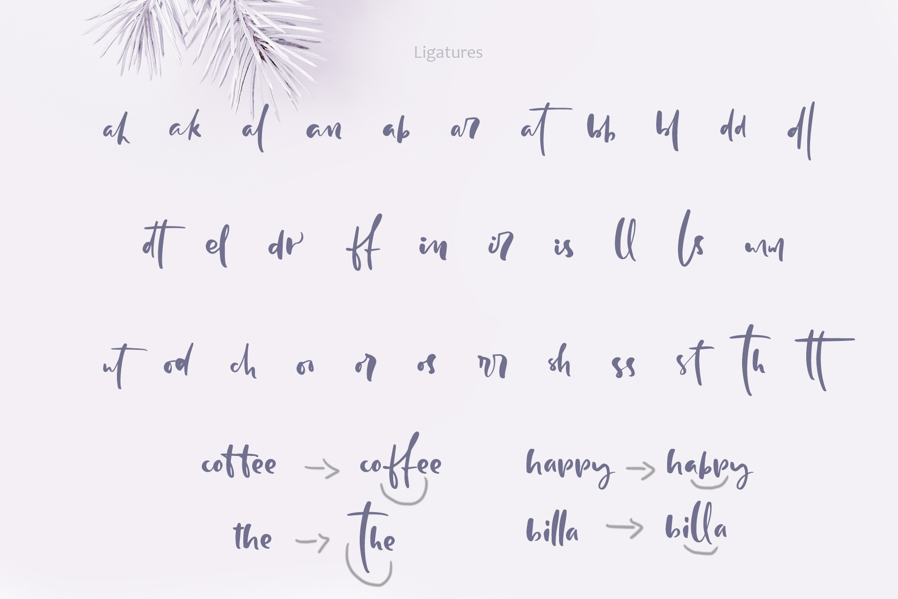 Holly Jolly Hand Drawn Font example image 6