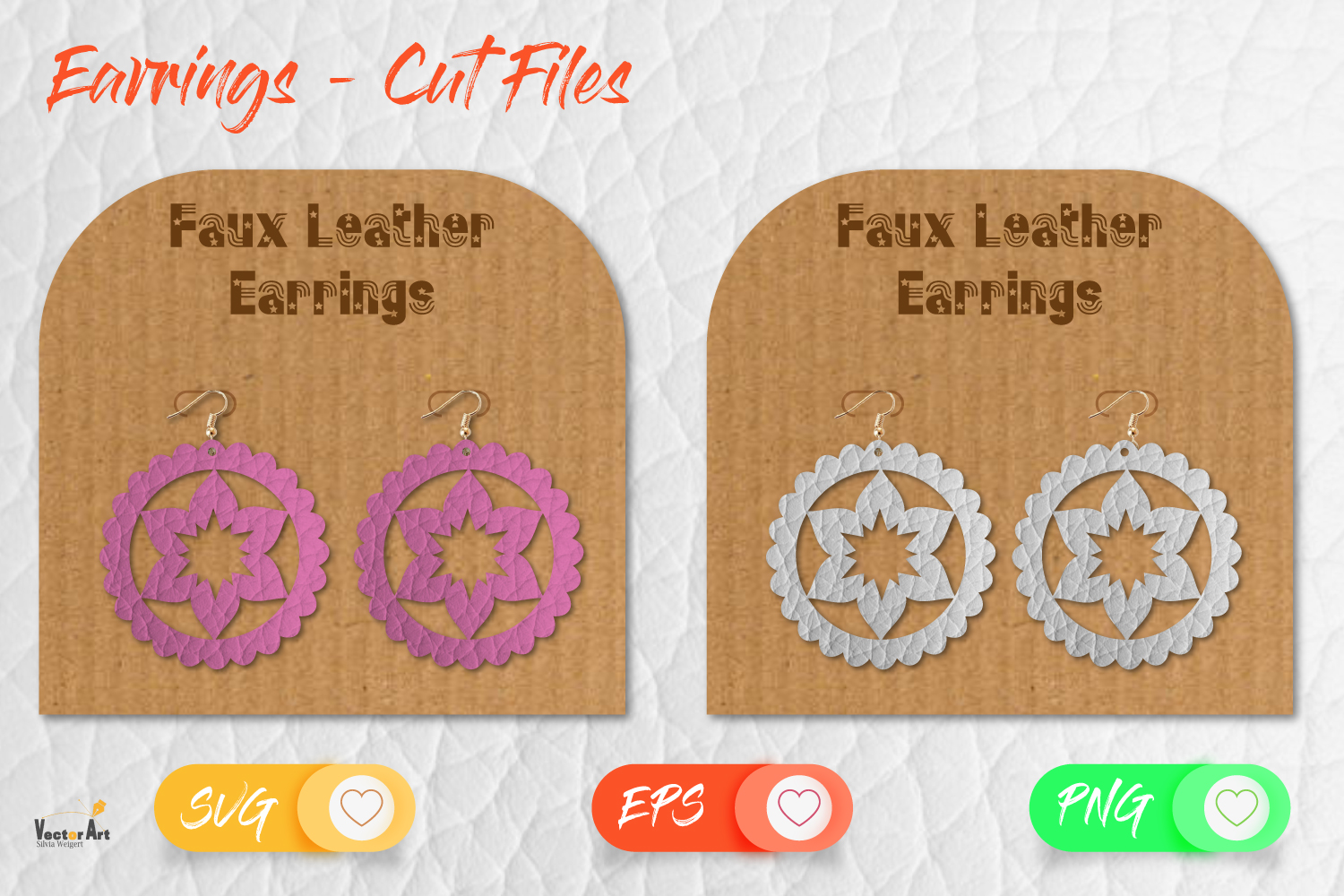 5 Earrings - Mini Bundle - Cut files example image 10