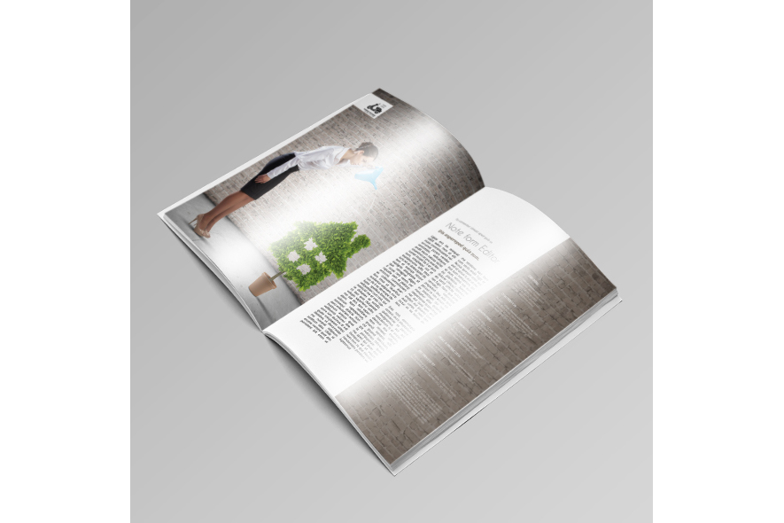 Business Magazine Template example image 2