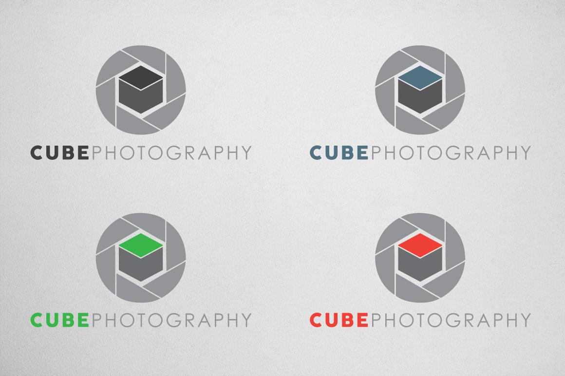 Photography Logo & Bcard Bundle example image 3