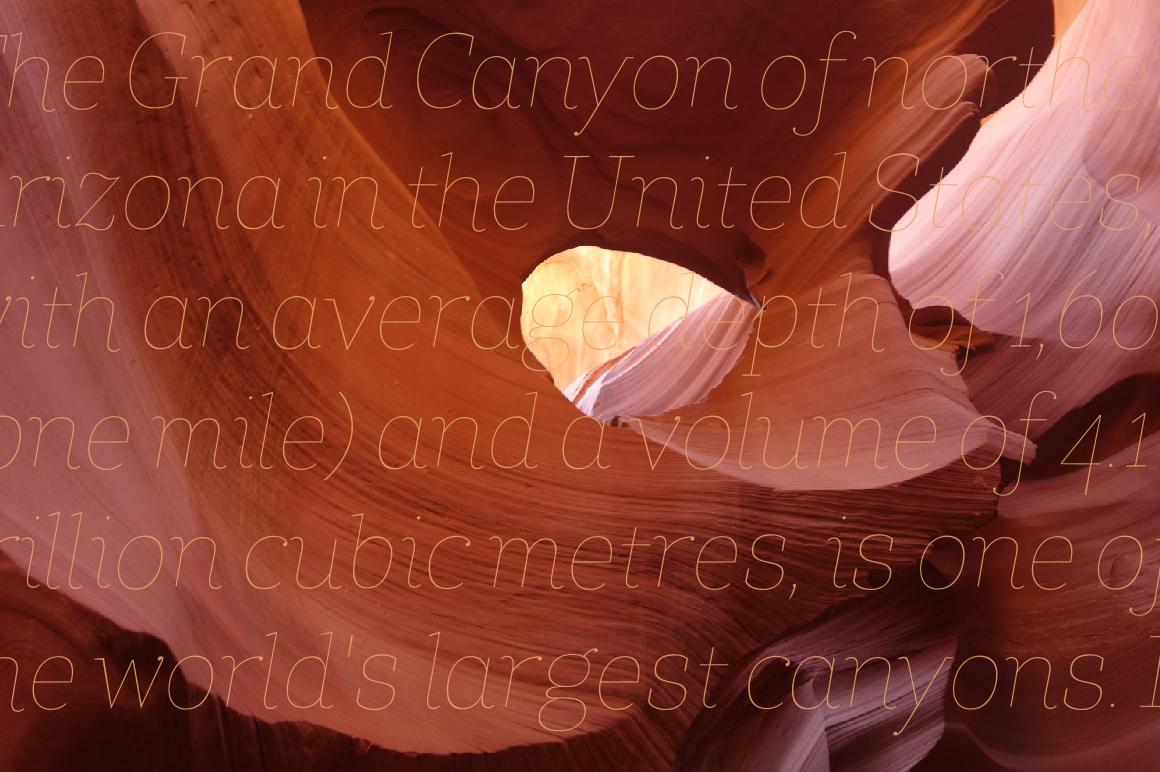 Coats Thin & Coats Thin Italic example image 2