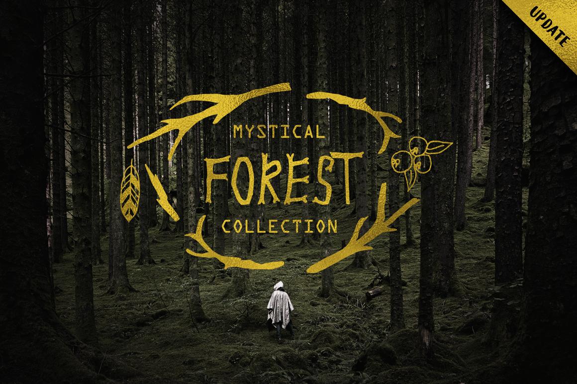 Mystical Forest DIY + Big Bonus example image 6