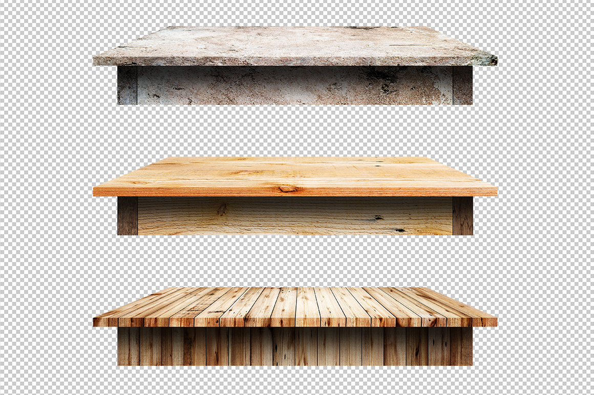 100 Realistic Table & Shelves  example image 6