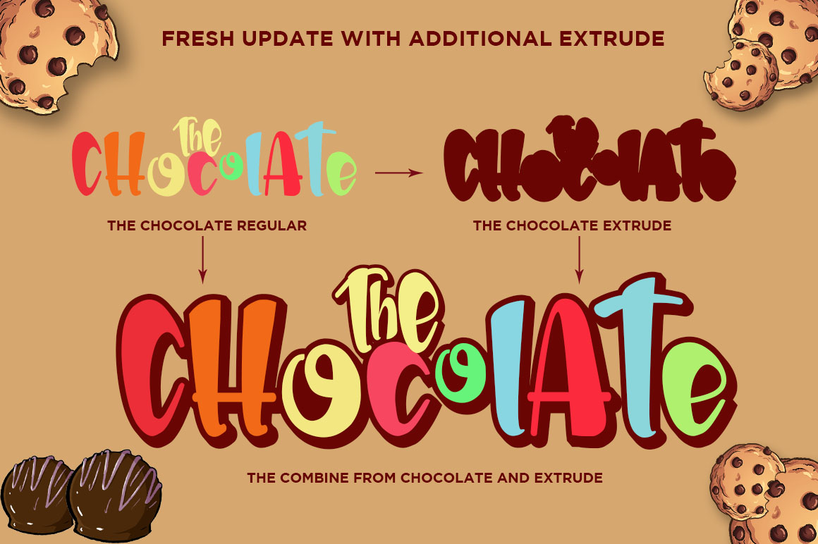 The Chocolate // New Fresh Updated example image 4