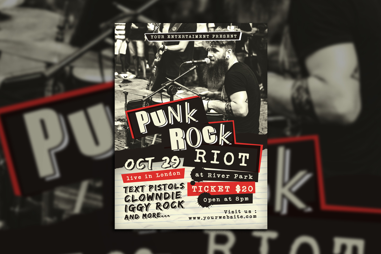 Punk Rock Concert example image 3