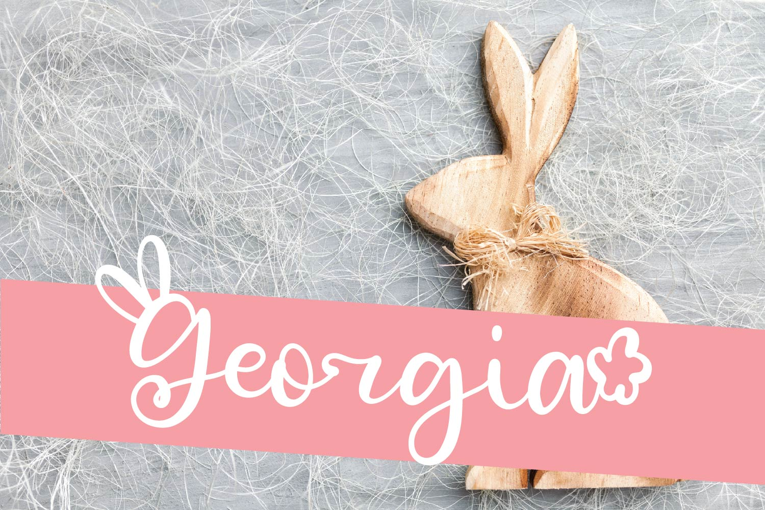 Rabbity - A Spring Font With Ears & Cotton Tails example image 10