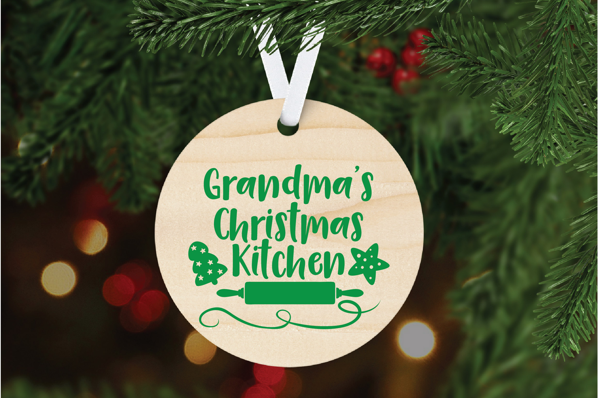 Christmas SVG Cut File - Grandma's Kitchen SVG DXF PNG EPS example image 6
