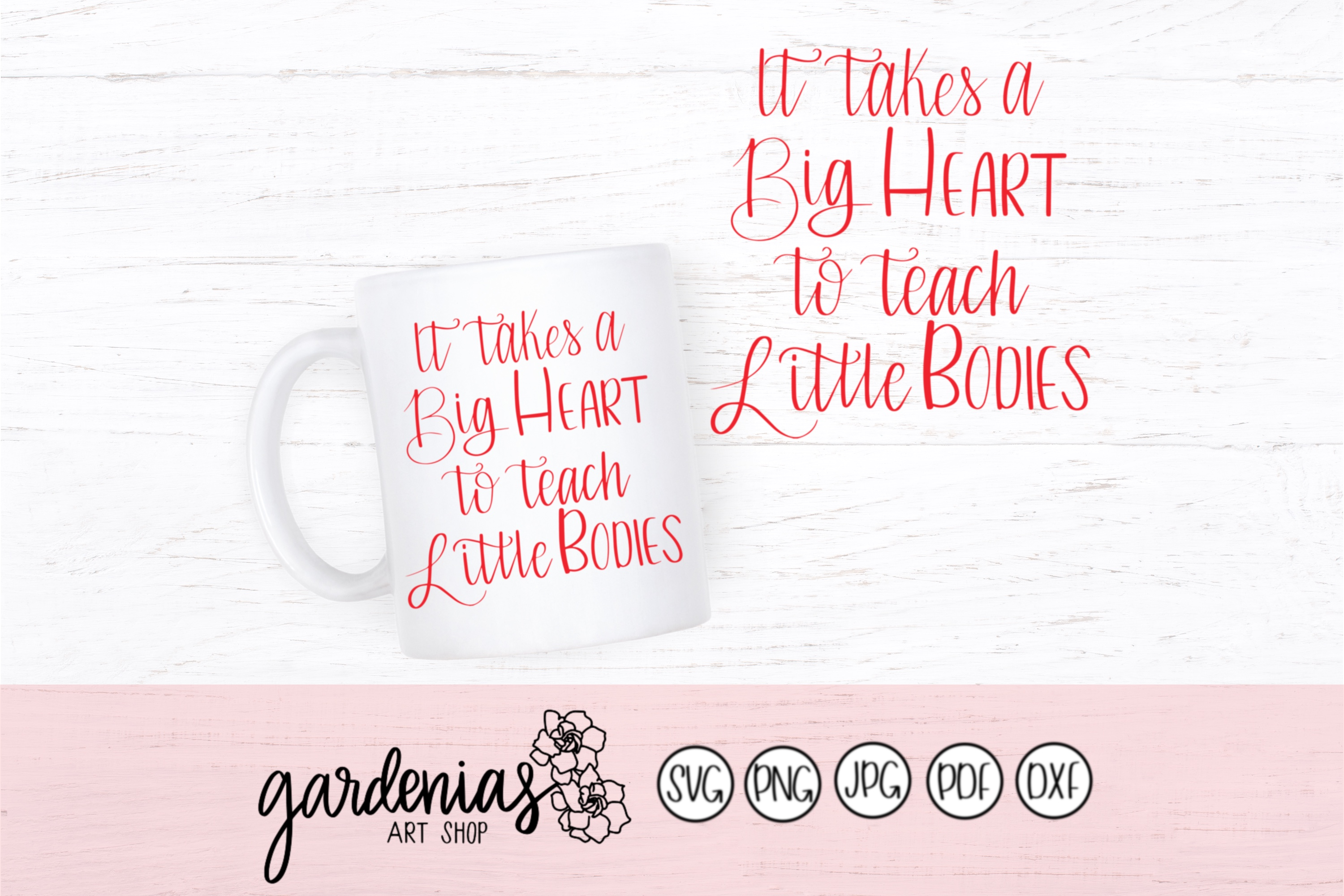 It Takes a Big Heart To Teach Little Bodies example image 1