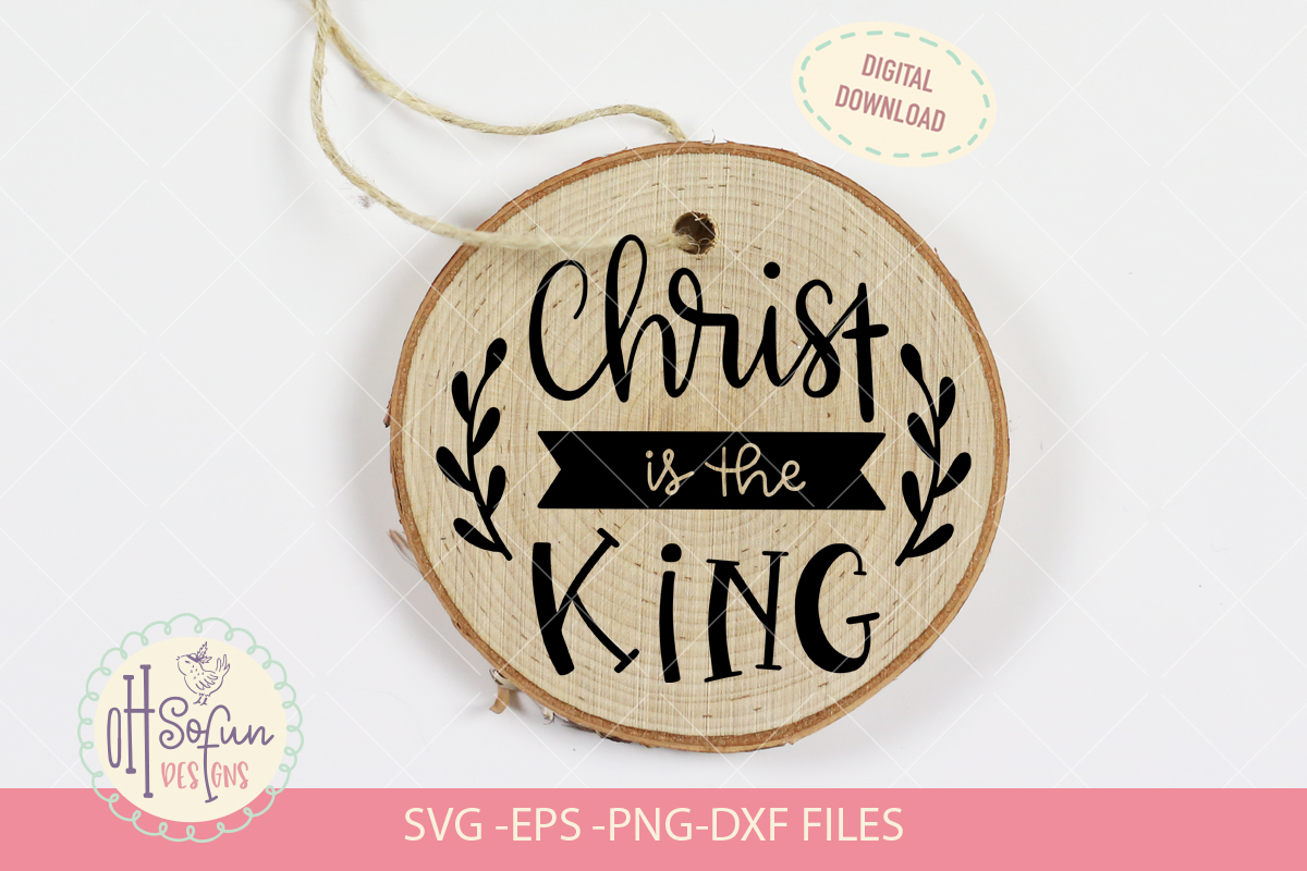 10 Religious Christmas ornaments, hand lettering Christmas example image 8