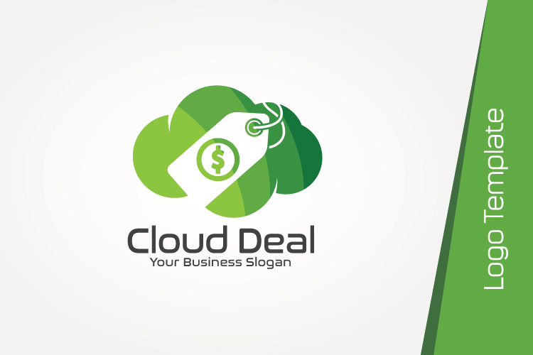 Cloud Store Logo Template example image 4