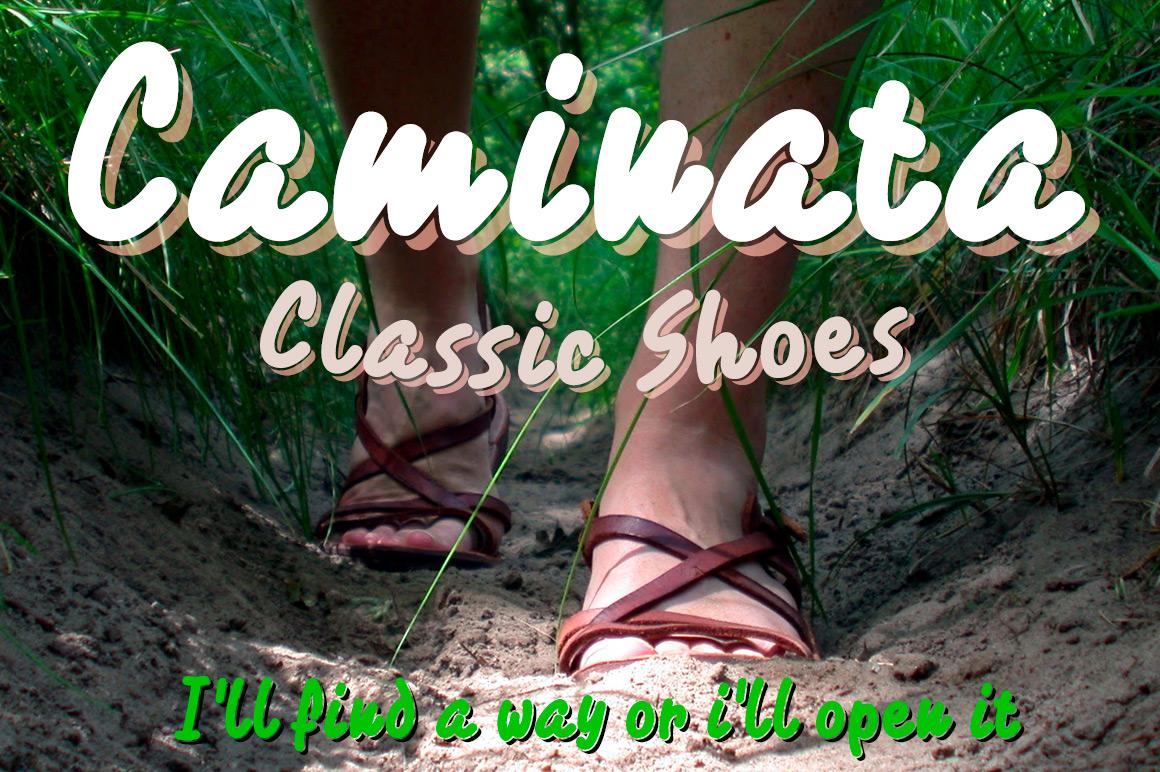 Caminata fonts example image 3