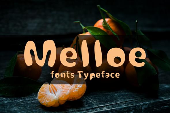 melloe fonts example image 1