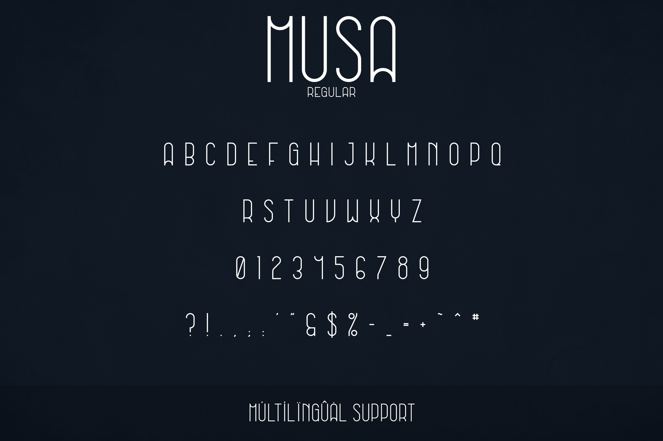 Musa Display Typeface - 12 fonts example image 9