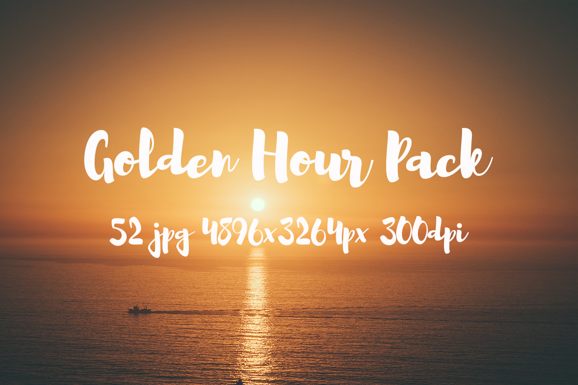 Golden hour Pack example image 24