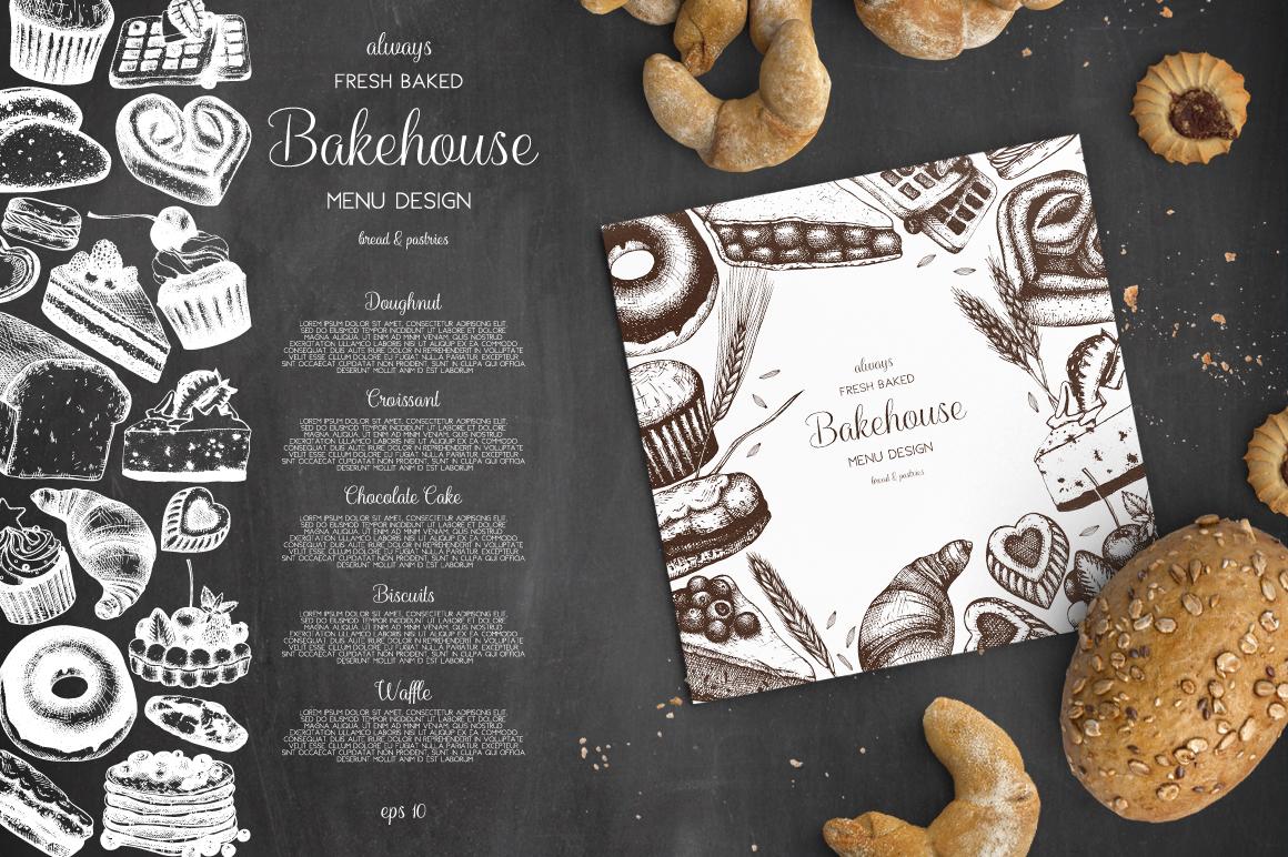 Bakery Menu Design example image 4