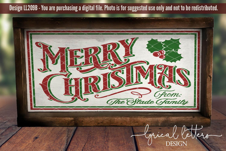 Farmhouse Christmas Bundle of 18 SVG Designs example image 15