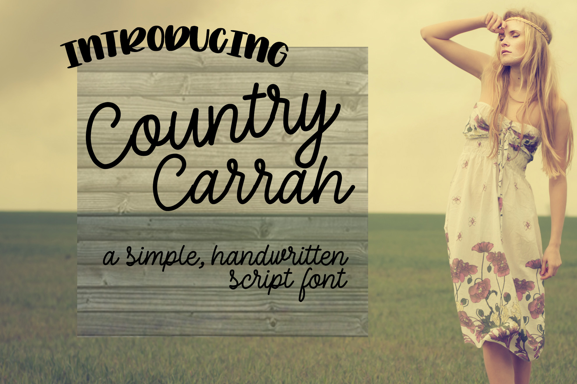 Country Carrah example image 1