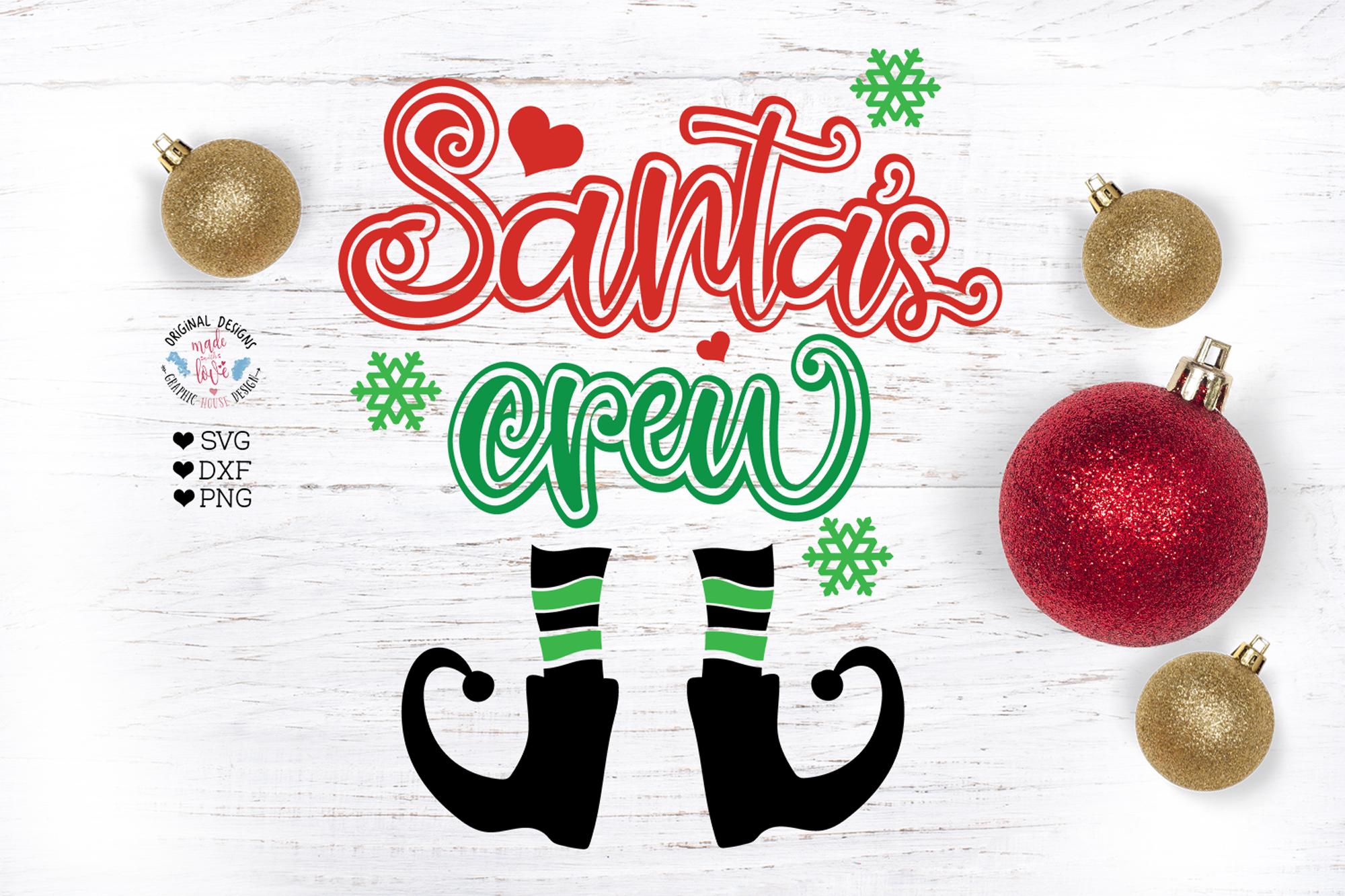Santas Crew Cut File example image 2