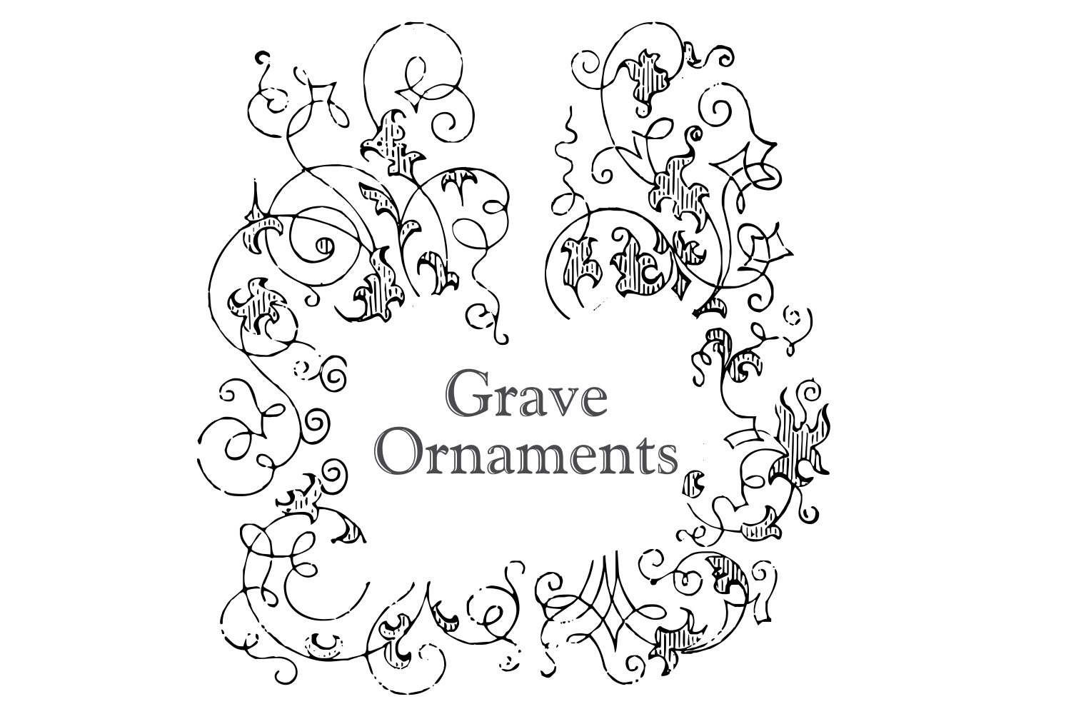 Grave Ornaments  example image 1