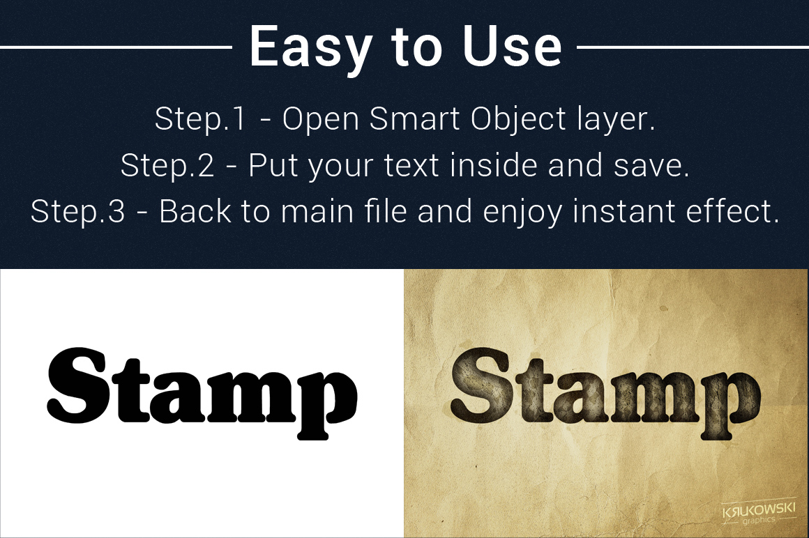 Stamp Ink Text Effects Style example image 5