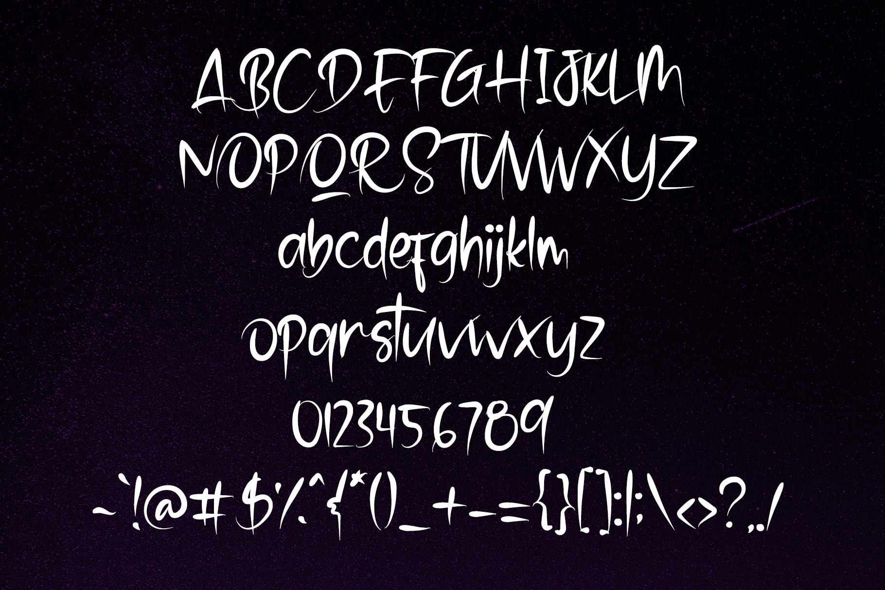 Stranger - Brush Font example image 6